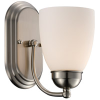 Clayton 1 Light 6 inch Brushed Nickel Wall Sconce Wall Light