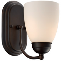 Clayton 1 Light 6 inch Rubbed Oil Bronze Wall Sconce Wall Light