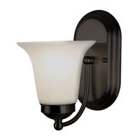 Trans Globe Morgan House 1 Light Wall Sconce in Rubbed Oil Bronze 3501-ROB