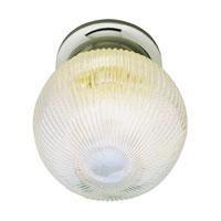 Trans Globe Lighting 3632-BN Harbor 1 Light 6 inch Brushed Nickel Flushmount Ceiling Light