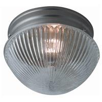 Trans Globe Lighting 3638-BN Harbor 1 Light 8 inch Brushed Nickel Flushmount Ceiling Light