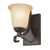 Trans Globe Lighting New Century 1 Light Wall Sconce in Antique Brown Rust 3681-ABR photo thumbnail
