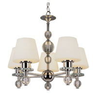 Trans Globe Lighting Modern Meets Traditional 5 Light Chandelier in Polished Chrome 3905-PC