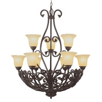 Trans Globe Lighting New Century 9 Light Chandelier 3959 photo thumbnail