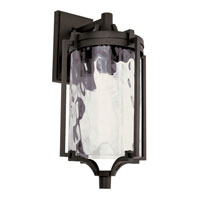 Trans Globe Coastal Sea 1 Light Outdoor Wall Lantern in Black 40130-BK