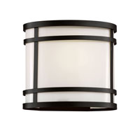 Trans Globe Lighting 40201-BK Cityscape 1 Light 8 inch Black Outdoor Wall Lantern