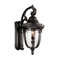Trans Globe Braided Roman 1 Light Outdoor Wall Lantern in Rubbed Oil Bronze 40221-ROB