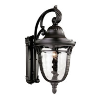 Trans Globe Braided Roman 1 Light Outdoor Wall Lantern in Rubbed Oil Bronze 40222-ROB