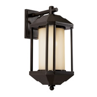Trans Globe Downtown Trolley 1 Light Outdoor Wall Lantern in Rubbed Oil Bronze 40251-ROB