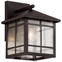 Capistrano 1 Light 11 inch Rubbed Oil Bronze Outdoor Wall Lantern