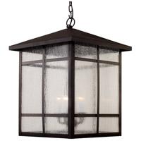 Trans Globe Lighting 40345-ROB Capistrano 5 Light 18 inch Rubbed Oil Bronze Outdoor Hanging Lantern