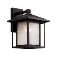 Trans Globe Signature 1 Light Outdoor Wall Lantern in Black 40361-BK