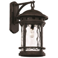 Boardwalk 1 Light 20 inch Rust Outdoor Wall Lantern