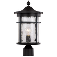 Avalon 1 Light 15 inch Black Outdoor Post Lantern