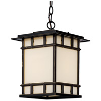 Antonio 1 Light 9 inch Rubbed Oil Bronze Outdoor Hanging Lantern