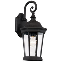 Trans Globe Lighting 40400-BK Westfield 1 Light 16 inch Black Outdoor Wall Lantern photo thumbnail