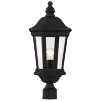 Westfield 1 Light 22 inch Black Outdoor Post Lantern