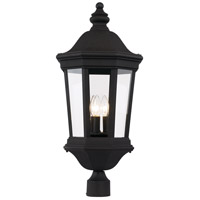Westfield 3 Light 28 inch Black Outdoor Post Lantern