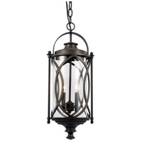 Fiesta 2 Light 9 inch Rubbed Oil Bronze Outdoor Hanging Lantern