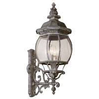 Rochelle 4 Light 32 inch Swedish Iron Outdoor Wall Lantern