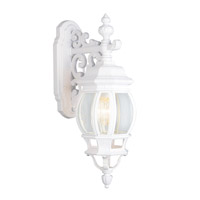 Rochelle 1 Light 20 inch White Outdoor Wall Lantern