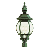 Trans Globe Rochefort 4 Light Post Lantern in Verde Green 4062-VG