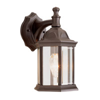 Templar 1 Light 13 inch Rust Outdoor Wall Lantern