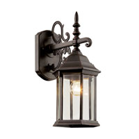 Trans Globe Alicante 1 Light Outdoor Wall Lantern in Rust 4353-RT
