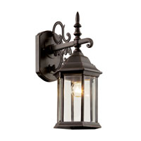 Alicante 1 Light 19 inch Rust Outdoor Wall Lantern