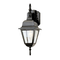 Arnherst 1 Light 17 inch Black Outdoor Wall Lantern