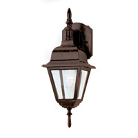 Arnherst 1 Light 17 inch Rust Outdoor Wall Lantern