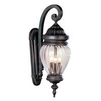 Trans Globe Lighting New American 3 Light Outdoor Wall Lantern in Antique Pewter 4441-AP
