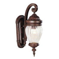 Trans Globe Lighting New American 3 Light Outdoor Wall Lantern in Antique Rust 4441-AR photo thumbnail