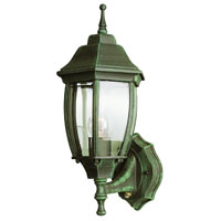 Signature 1 Light 16 inch Verde Green Outdoor Wall Lantern