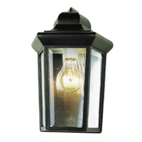 Trans Globe Lighting The Standard 1 Light Outdoor Pocket Lantern in Black 4483-BK