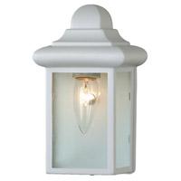 Trans Globe Lighting 44835-WH Vista 1 Light 9 inch White Outdoor Pocket Lantern