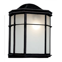 Trans Globe Signature 1 Light Outdoor Pocket Lantern in Black 4484-BK