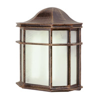 Signature 1 Light 10 inch Rust Outdoor Pocket Lantern