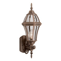 Trans Globe Lighting The Standard 1 Light Outdoor Wall Lantern in Rust 4512-RT