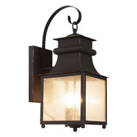 La Paz 2 Light 18 inch Weathered Bronze Outdoor Wall Lantern