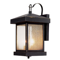 Trans Globe Lighting Coastal 2 Light Outdoor Wall Lantern in Weather Bronze 45641-WB
