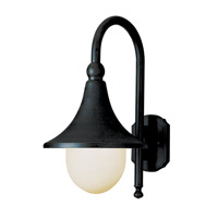 Santa Isabel 1 Light 18 inch Black Outdoor Wall Lantern