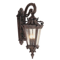 Roubaix 4 Light 29 inch Patina Outdoor Wall Lantern