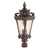 Roubaix 4 Light 26 inch Patina Post Lantern