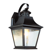 Manchester 1 Light 11 inch Rubbed Oil Bronze Outdoor Wall Lantern