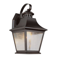 Manchester 1 Light 13 inch Rubbed Oil Bronze Outdoor Wall Lantern