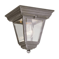 Vermont 1 Light 8 inch Rust Flush Mount Ceiling Light