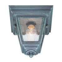 Vermont 1 Light 8 inch Verde Green Flush Mount Ceiling Light