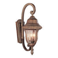 Trans Globe Lighting New American 3 Light Outdoor Wall Lantern in Antique Bronze 4922-ABZ