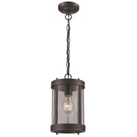 Sepulveda 1 Light 6 inch Black Outdoor Hanging Lantern